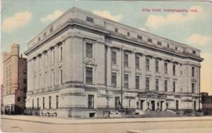 Indiana Indianapolis City Hall 1917