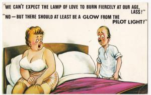 Ageing Saucy Comic PPC Should Be A Glow From The Pilot Light By Bamforth