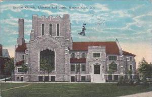 Missouri Kansas City Baptist Church Linwood And Park 1924