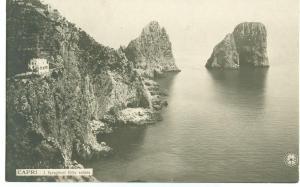 Italy, Capri, Veduta, view, early 1900s unused RPPC Postcard