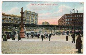 Boston, Mass, Dewey Square