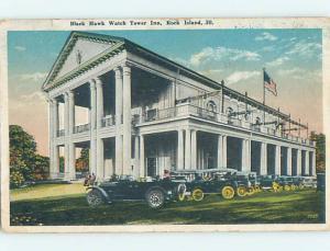 Bent Corner W-Border INN SCENE Rock Island Illinois IL hs9061
