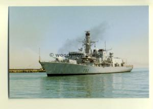 na0301  - Royal Navy Warship - HMS Somerset - postcard