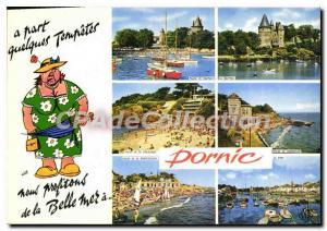 Postcard Modern Cote De Jade Pornic