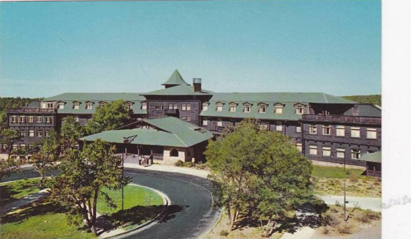 One of the world's most famous resort inns, Hotel El Tovar, Grand Canyon, Nat...