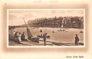 Ryde Canoe Lake Boats Bateaux Lac