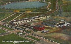 CHEYENNE , Wyoming , 1930-40s ; Airport