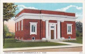 North Carolina Hickory Carnegie Public Library