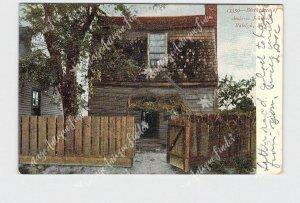 PPC POSTCARD NC NORTH CAROLINA RALEIGH BIRTHPLACE ANDREW JOHNSON UNDIVIDED BACK