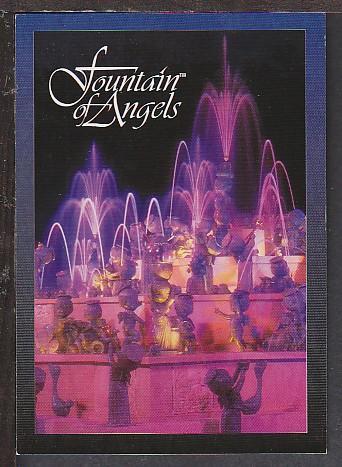 Fountain of Angels Cambridge MO Postcard BIN