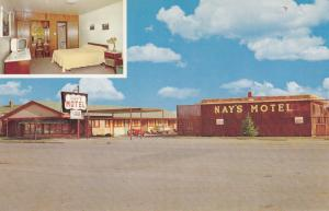NORTH BATTLEFORD , Saskatchewan, Canada, 40-60s ; Nay's Motel