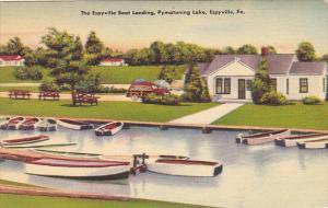 Pennsylvania Espyville Boat Landing On Pymatuning Lake