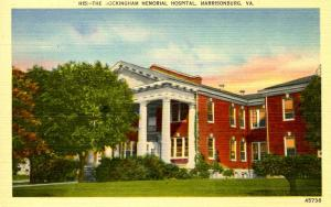 VA - Harrisonburg. Rockingham Memorial Hospital