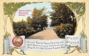 Grand Rapids Michigan Home Coming  & 60th Anniversary~Soldiers Home~1910 Pc