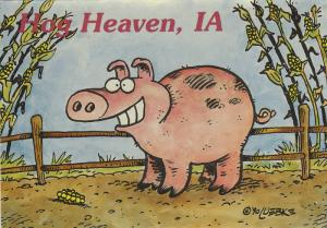 AS: Hog Heaven, Just West of Illinois, Iowa 50000, 1990