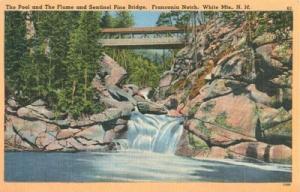 The Pool and the Flume & Sentinel Pine Bridge, Franconia ...