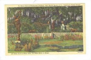 Diana Pool In Brookgreen Gardens, Myrtle Beach, South Carolina, 1930-1940s