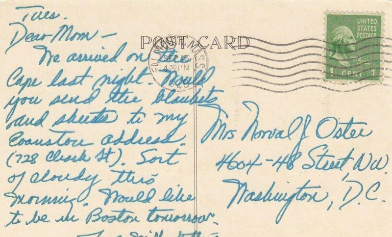 STONINGTON , Connecticut, PU-1949; LIGHTHOUSE
