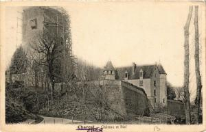 CPA Charost Chateau et Bief (613126)