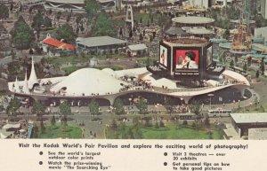 NEW YORK CITY , 1963 World's Fair , Kodak Pavilion