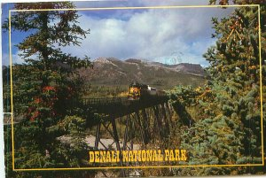 Denali National Park Railroad Alaska