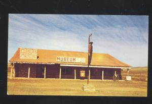 SELIGMAN ARIZONA ROUTE 66 MUSEUM OF THE OLD WEST ADVERTISING POSTCARD