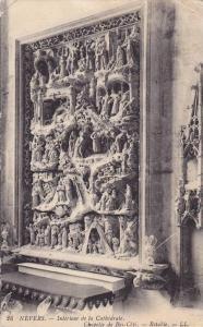 NEVERS, Interieur de la Cathedrale, Chapelle de Bas-Cote, Nievre, France, PU-...