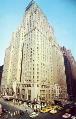 HOTEL NEW YORKER SKYSCRAPER NEW YORK CITY, NY