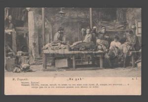 093313 STANISLASKY etc Russian DRAMA Theatre ACTORS 1904 PHOTO