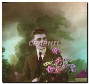 Postcard Old Man