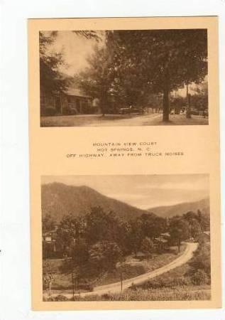 2Views, Mountain View Court, Hot Springs, North Carolina, 1900-1910s