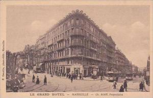 France Marseille Le Grand Hotel