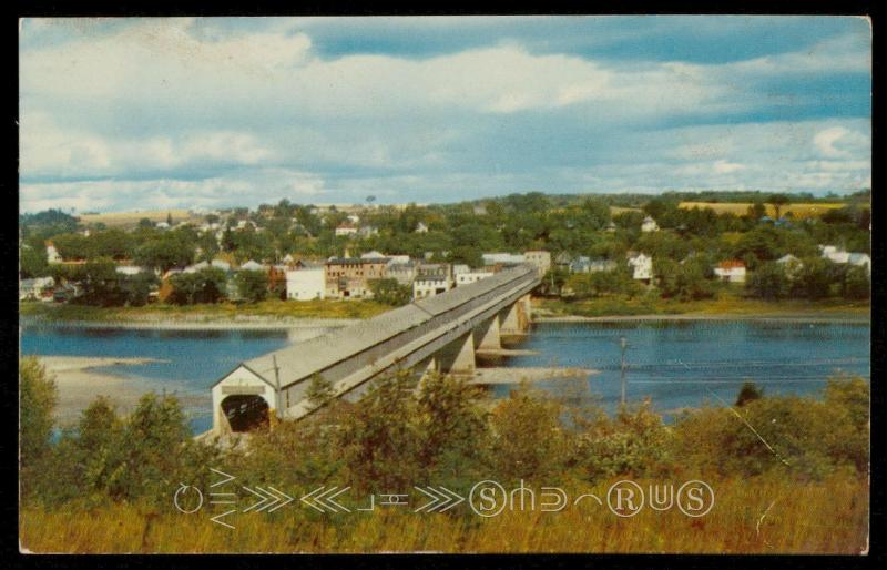 Longest Covered Bridge in the World - New Brunswick