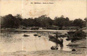 CPA AK Fortier 161 Bords du fleuve SÉNÉGAL (762925)