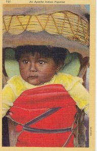 An APACHE Indian Papoose , 30-40s