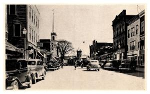 New Hampshire Littleton , Main Street Looking East, ESSO