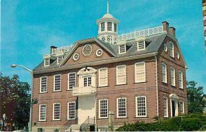 Old Colony House Washington Square Newport RI Rhode Island