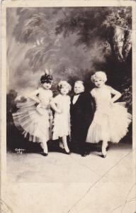 RP; Little People, Grace and Harry with two dancers, 10-20s