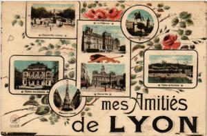 CPA Mes Amitiés de Lyon (442977)