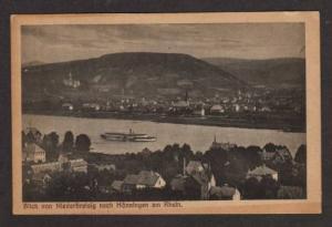 Blick von Niederbreisig nach Honningen Rhine GERMANY PC