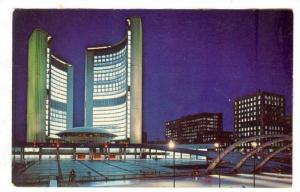 Nathan Phillips Square and the New City Hall, Toronto, Ontario, Canada, 40-60s
