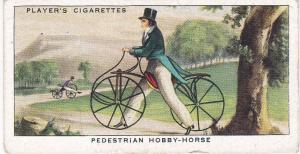 Cigarette Cards Players CYCLING No 1 Pedestrian Hobby-Horse