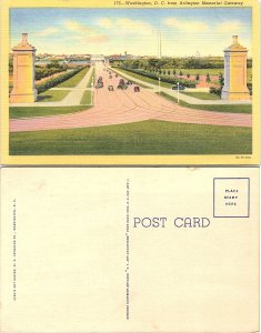 Washington D.C. from Arlington Memorial Gateway