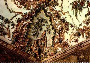 Spain Madrid Royal Palace Gasperini's Hall Ceiling