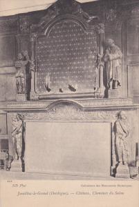 Jumilbac-le Grand DORDOGNE, Chateau, Cheminee du Salon, Aquitiane, France, 00...