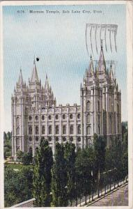 Utah Salt Lake City Mormon Temple 1934