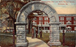 LP42  Edinboro  Pennsylvania Postcard State Normal School
