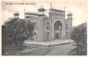 Agra India Gate of Taj Mahal Agra Gate of Taj Mahal
