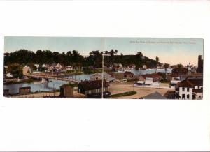 Birds Eye View Harbour and Hillcrest, Port Stanley, Ontario, Double Sized