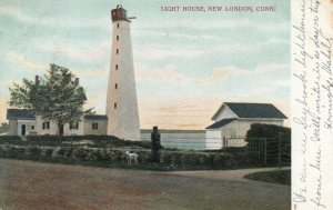NEW LONDON , Connecticut , 1906 ; Lighthouse